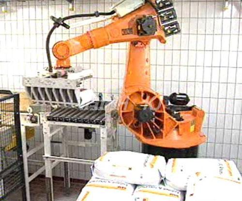 Automatic palletizing system